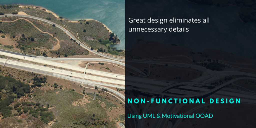 Non-functional Architecture using OOAD and UML